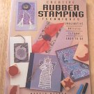 CREATIVE RUBBER STAMPING TECHNIQUES~SC~MARYJO MCGRAW~SIGNED BY AUTHOR