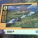 M BRADLEY BIG BEN JIGSAW PUZZLE ~GLACIER NATIONAL PARK MONTANTA USA~1000 COMPLETE