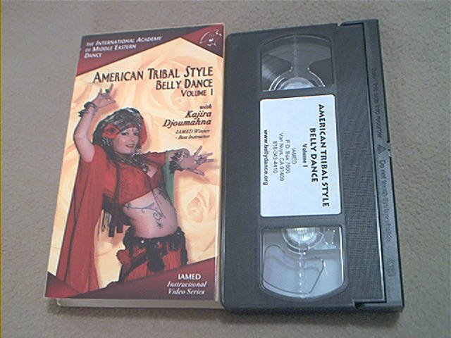 AMERICAN TRIBAL STYLE BELLY DANCE VOL.1~VHS~KAJIRA DJOUMAHNA~RARE