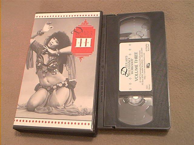 DELILAH'S BELLY DANCE WORKSHOP VOLUME 3~VHS~90 MINS. INSTRUCTION