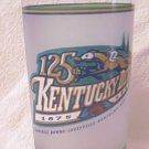 1999 KENTUCKY DERBY COMMEMORATIVE GLASS ~OFFICIAL~AUTHENTIC ~HORSE~CHARISMATIC