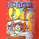 HARDEE'S PROMOTIONAL ADVERTISING GLASS ~FLINTSTONES FIRST 30 YEARS~DRIVE IN~1964