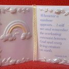 ENESCO BIBLE BOOK FIGURINE 1998 ~GENESIS 9:16 ~RAINBOW