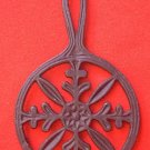 ROUND CAST IRON TRIVET ~JAPAN~6.5 IN