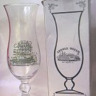 CAJUN QUEEN RIVERBOAT SOUVENIR HURRICANE GLASS IN ORIGINAL BOX ~NEW ORLEANS