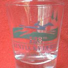 KENTUCKY DERBY COMMEMORATIVE SHOT GLASS ~2002~128TH