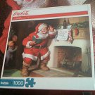 COCA COLA JIGSAW PUZZLE ~A GIFT FOR SANTA~BUFFALO GAMES~COMPLETE~CHRISTMAS
