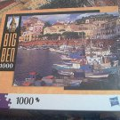 M BRADLEY BIG BEN JIGSAW PUZZLE ~PONZA ITALY~BOATS~COMPLETE