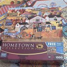 MEGA HOMETOWN COLLECTION JIGSAW PUZZLE~HERONIM WYSOCKI~LADIES OF LANCASTER~COMPLETE~QUILTS