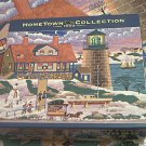 MEGA HOMETOWN JIGSAW PUZZLE ~HERONIM WYSOCKI~GRANDMA AND GRANDPA AT CHRISTMAS~COMPLETE~LIGHTHOUSE