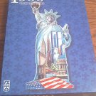 SCHMID SHAPED JIGSAW PUZZLE ~STATUE OF LIBERTY~NEW YORK~1000~NEW -UNOPENED