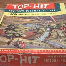 VINTAGE FAIRCHILD TOP-HIT PRE-TEEN PICTURE PUZZLE JIGSAW ~1956~THE PROMISED LAND-COMPLETE