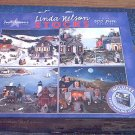 CEACO 4-500 PC JIGSAW PUZZLE SET ~LINDA NELSON STOCKS~FOUR SEASONS~COMPLETE