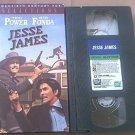 JESSE JAMES~VHS~TYRONE POWER, HENRY FONDA, RANDOLPH SCOTT~1939 CLASSIC