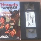 FRANCIS JOINS THE WACS~VHS~DONALD O'CONNOR, MAMIE VAN DOREN~RARE 1954