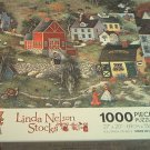 CEACO JIGSAW PUZZLE ~LINDA NELSON STOCKS~THE TIN RABBIT~COMPLETE