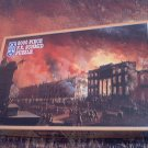 SCHMID 2000 PC JIGSAW PUZZLE ~VIEW OF GREAT FIRE IN NEW YORK 1837~COMPLETE