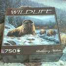 SURE-LOX WILDLIFE 750 PC JIGSAW PUZZLE ~ROSEMARY MILLETTE~SPIRIT OF THE BISON