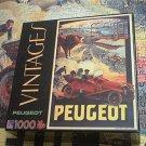 SURELOX VINTAGES JIGSAW PUZZLE~PEUGEOT POSTER~COMPLETE~CAR
