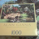 SURE-LOX 1000 PC JIGSAW PUZZLE ~ALAN GIANA~SONG OF SPRING~COMPLETE