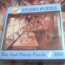 BITS AND PIECES STUDIO JIGSAW PUZZLE ~THE ARRANGEMENT ROOM~JESS HAGER~COMPLETE