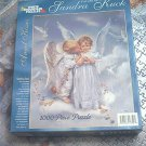 WHITE MOUNTAIN 1000 PC JIGSAW PUZZLE ~ANGEL KISSES~SANDRA KUCK~COMPLETE
