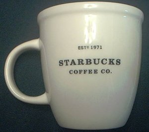 STARBUCKS COFFEE 30TH ANNIVERSARY COMMEMORATIVE MUG CUP ~6 oz