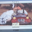 NATHAN 500 PC JIGSAW PUZZLE ~KISSES IN A CHARLESTON~FRANCE~NEVER OPENED~CUTE