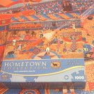 MEGA HOMETOWN COLLECTION 1000 PC JIGSAW PUZZLE ~HERONIM WYSOCKI~AT THE CIRCUS~COMPLETE