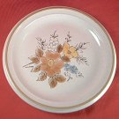 MIKASA STONEWARE FLOWER ARRANGEMENTS SUMMER FLOWERS SALAD PLATE ~7.5 IN