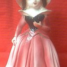 VINTAGE PRETTY LADY IN HAT FIGURINE ~JAPAN~1950'S
