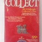 1998 HALLMARK 25TH ANNIVERSARY COLLECTOR PIN~  #3 ~LOCOMOTIVE TRAIN LAPEL PIN