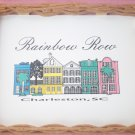 RAINBOW ROW CHARLESTON SC DECORATIVE SOUVENIR TRAY