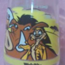 WELCH'S JAM JELLY JUICE COLLECTOR GLASS ~DISNEY'S LION KING II~SIMBA'S PRIDE #2