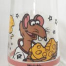 WELCH'S JAM JELLY JUICE COLLECTOR GLASS ~MUPPETS IN SPACE~RIZZO THE RAT #5