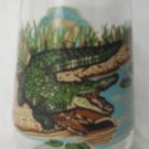 WELCH'S JAM JELLY JUICE COLLECTOR GLASS ~ENDANGERED SPECIES~AMERICAN CROCODILE #11