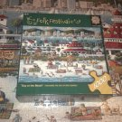MASTERPIECES 1000 JIGSAW PUZZLE~DAY AT THE BEACH~ERIC DOWDLE~HOTEL CORONADO~COMPLETE