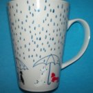 VINTAGE VERA NEUMANN RAINY DAY TALL MUG ~DOGS AND CATS~LADYBUG