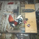 SCOT A WEIR PREMIER 1000 PC JIGSAW PUZZLE ~ROMEO~ROOSTER~COMPLETE