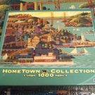 MEGA HOMETOWN COLLECTION JIGSAW PUZZLE~HERONIM WYSOCKI~SAUSALITO FERRY~COMPLETE