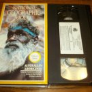 AUSTRALIA'S ABORIGINES~VHS~NATIONAL GEOGRAPHIC VIDEO~1989 DOCUMENTARY
