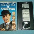 THE ALPHABET MURDERS~VHS~TONY RANDALL, ANITA EKBERG~1966 POIROT MYSTERY