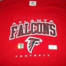 ATLANTA FALCONS~NFL TEAM~T-SHIRT~SIZE LARGE~NEW~FOOTBALL TEAM~RED