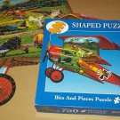 BITS & PIECES JIGSAW PUZZLE~RUSSELL COBANE~AT THE AIR SHOW~AIRPLANES~750 PCS~SHAPED~COMPLETE
