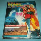 BACK TO THE FUTURE~HC BOOK~OFFICIAL BOOK OF TRILOGY~KLASTORIN & HIBBIN~MOVIE TIE-IN
