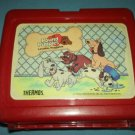 VINTAGE POUND PUPPIES~TONKA~LUNCH BOX~PLASTIC~1986 NO THERMOS
