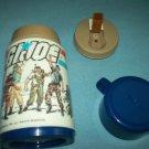 VINTAGE G.I. JOE THERMOS~ALADDIN~1985~BLUE CAP~HEROES