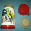 VINTAGE DICK TRACY THERMOS~ALADDIN~~RED CAP~DISNEY