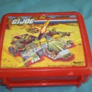 VINTAGE G. I. JOE~LUNCH BOX~PLASTIC~NO THERMOS~ALADDIN~1990