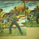VINTAGE MB JIGSAW PUZZLE~G.I. JOE~1987~60 PCS~~COMPLETE